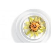 """Recette Salade de mozzarella au Curry Rouge (... la salade """"levé de soleil"""" )"""
