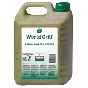 World Grill Lemon & Green Pepper Pure